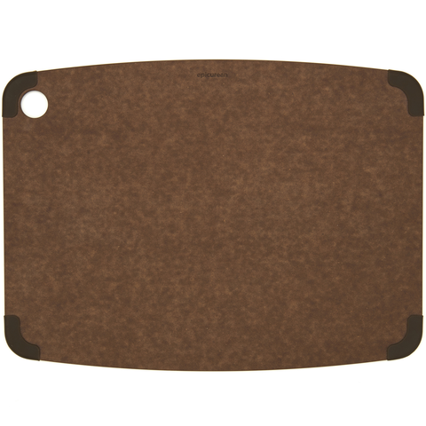 EPICURE NONSLIP SERIES 17.5'' X 13'' CUTTING BOARD - NUTMEG/BROWN