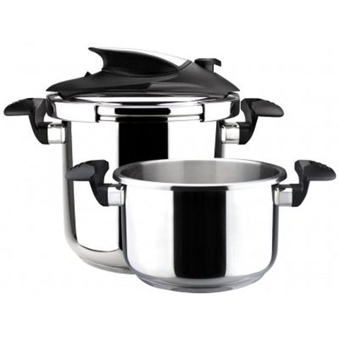 Magefesa Nova Stainless Steel Super Fast Pressure Cooker Set