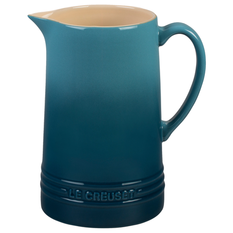 LE CREUSET 1.6-QUART PITCHER - MARINE