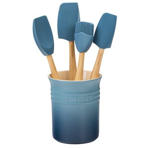 LE CREUSET CRAFT SERIES UTENSIL SET - MARINE