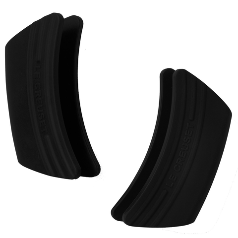 LE CREUSET SILICONE HANDLE GRIPS, SET OF 2 - BLACK