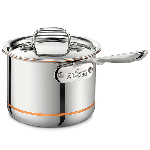 ALL-CLAD COPPER CORE® 2-QUART SAUCE PAN