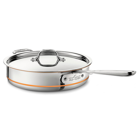 ALL-CLAD COPPER CORE® 3-QUART SAUTE PAN