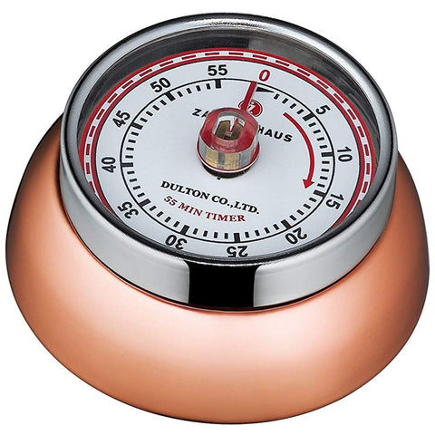 "Zassenhaus Kitchen Timer ""Retro"", Copper"