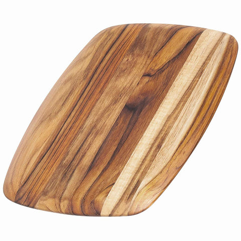 Teakhaus Cutting Board - Rectangle Serving Board With Rounded Edges