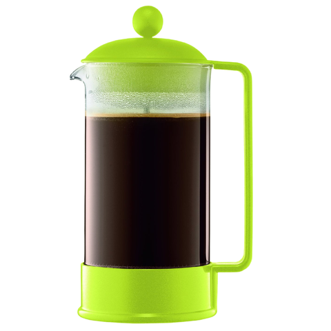 BODUM BRAZIL 8-CUP FRENCH PRESS - GREEN