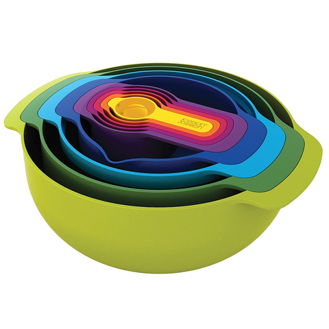 JOSEPH JOSEPH NEST™ 9 PLUS 9-PIECE NESTING BOWL SET