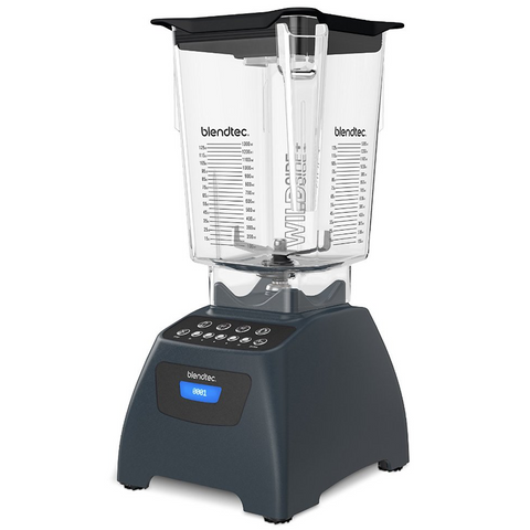 Blendtec Classic 575 Blender with 90 oz WildSide+ Jar, Slate Grey