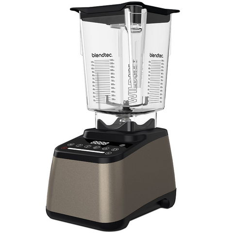 Blendtec Designer 675 Blender with 90 oz WildSide+ Jar, Champagne