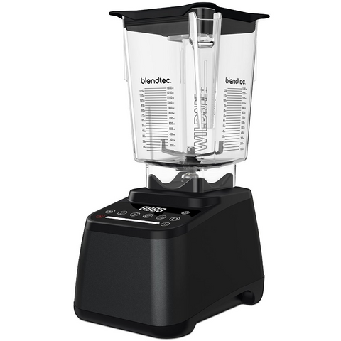Blendtec Designer 675 Blender with 90 oz WildSide+ Jar, Charcoal