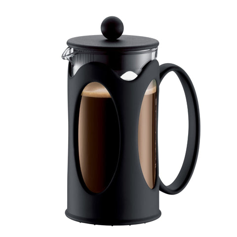 Bodum Kenya 3-Cup French Press, Black