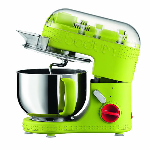 BODUM BISTRO 4.7-LITER ELECTRIC STAND MIXER - GREEN