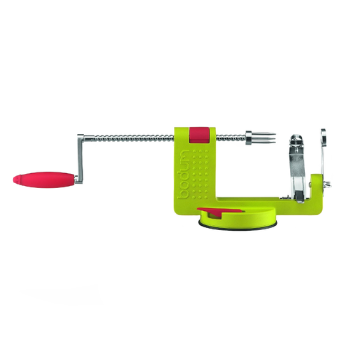 Bodum Bistro Apple Peeler, Green
