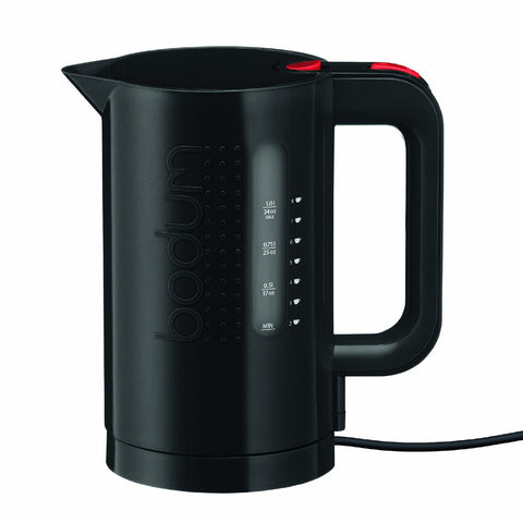 Bodum Bistro 34-Ounce Electric Water Kettle, Black