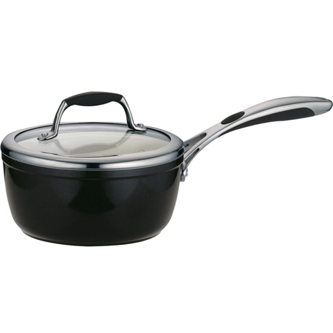 TRAMONTINA CERAMICA DELUXE 1.5-QUART COVERED SAUCE PAN