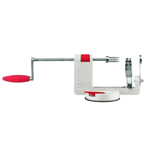 BODUM BISTRO APPLE PEELER - OFF WHITE