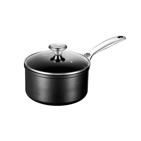 LE CREUSET 2 QUART TOUGHENED NONSTICK SAUCEPAN WITH LID