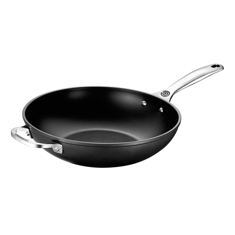 LE CREUSET 12'' TOUGHENED NONSTICK STIR-FRY PAN