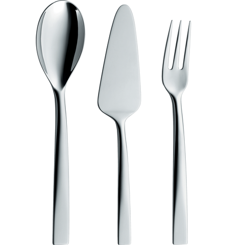 ZWILLING J.A. HENCKELS METEO 3-PIECE 18/10 STAINLESS STEEL FLATWARE SERVING SET