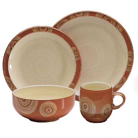 DENBY FIRE CHILLI 4-PIECE SET