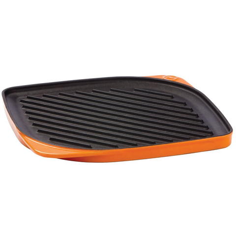 Mario Batili By Dansk 11'' Persimmon Squre Reversible Grill/Griddle
