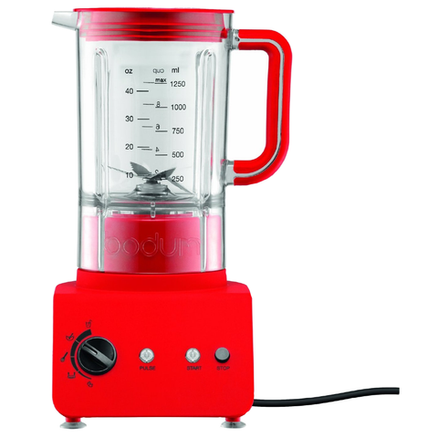 BODUM BISTRO 42-OUNCE BLENDER - RED