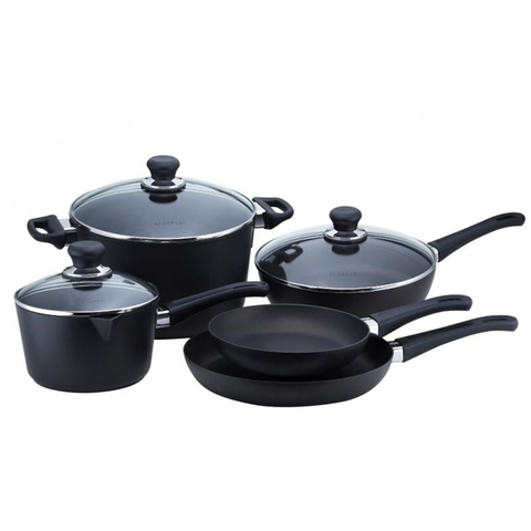 SCANPAN CLASSIC 8-PIECE COOKWARE SET