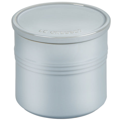 Le Creuset 1.5-Quart Canister with Stoneware Lid - Mettalic Coastal Blue