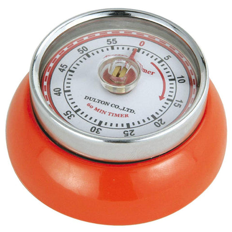 "Zassenhaus Kitchen Timer ""Retro"", Orange"