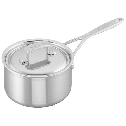 DEMEYERE INDUSTRY 5-PLY 2-QUART STAINLESS STEEL SAUCEPAN
