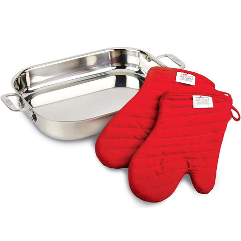 ALL-CLAD LASAGNA PAN WITH 2 MITTS