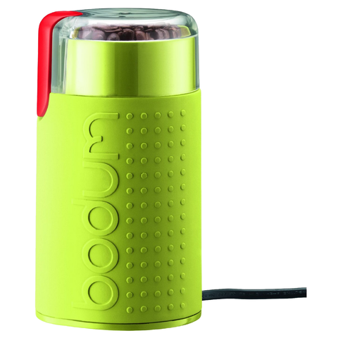 Bodum Bistro Electric Coffee Grinder, Green