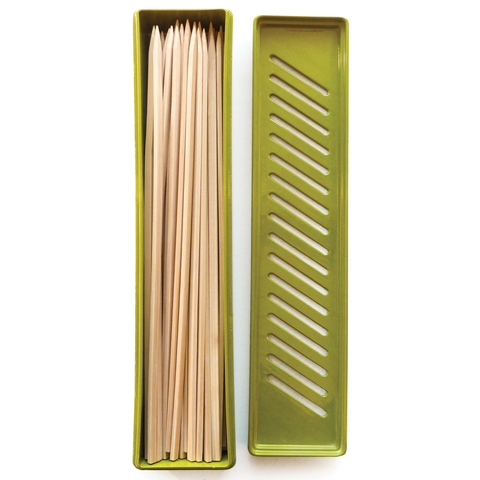 RSVP BAMBOO SKEWER SOAKER BOX
