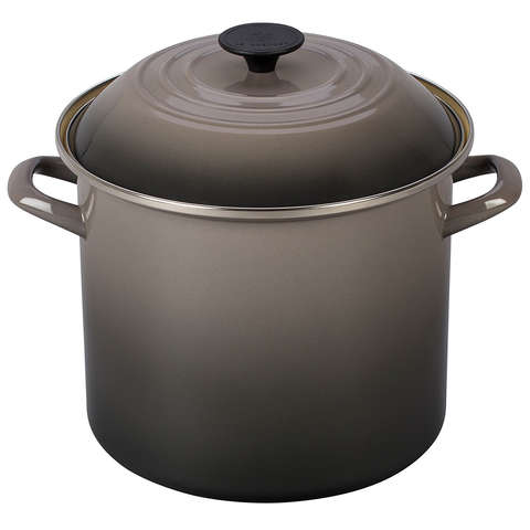 LE CREUSET 10-QUART STOCKPOT - OYSTER