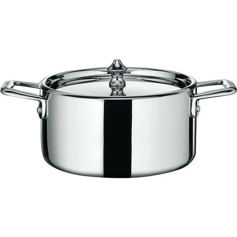 SCANPAN MAITRE D'' STEEL MINI 1.6-QUART DUTCH OVEN