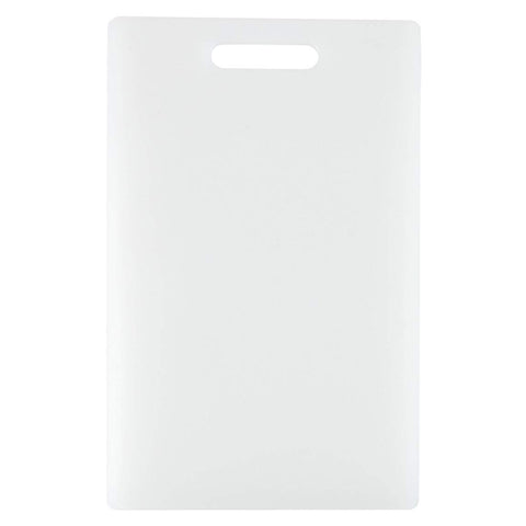 Dexas Nsf Polysafe Cutting Board With Handle, 9.5 By 15 Inches, White