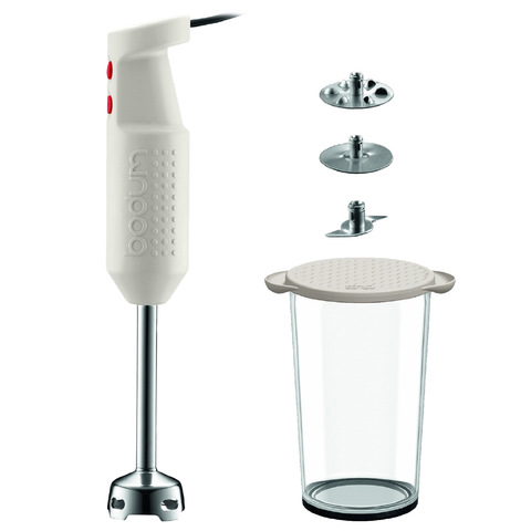 Bodum Bistro Electric Blender Stick, Off-White