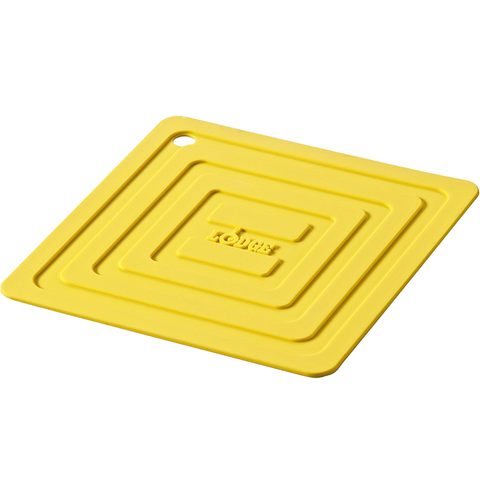 LODGE SILICONE POT HOLDER, YELLOW