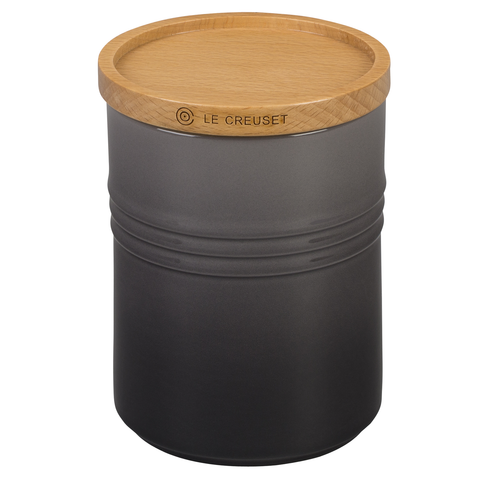 LE CREUSET 4'' LARGE STORAGE CANISTER - OYSTER