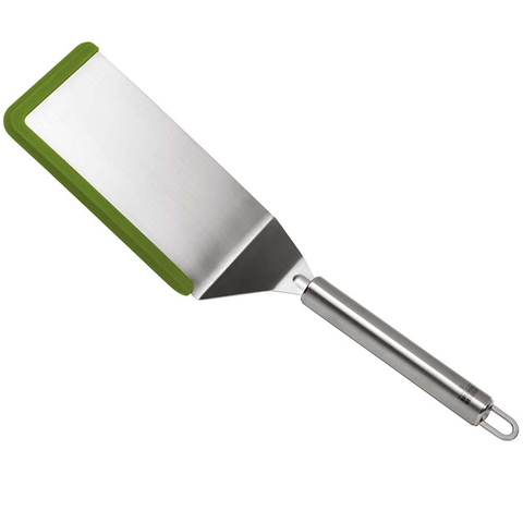 KUHN RIKON SOFTEDGE™ SOLID FLEXI TURNER, STAINLESS STEEL - GREEN