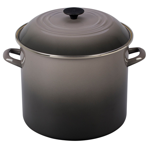 Le Creuset Enamel On Steel 16QT. Stockpot - Oyster