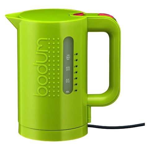Bodum Bistro 34-Ounce Electric Water Kettle, Green