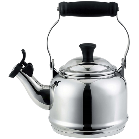 LE CREUSET 1.25-QUART STAINLESS STEEL DEMI KETTLE
