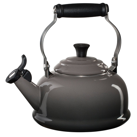 LE CREUSET 1.8-QUART CLASSIC WHISTLING KETTLE - OYSTER