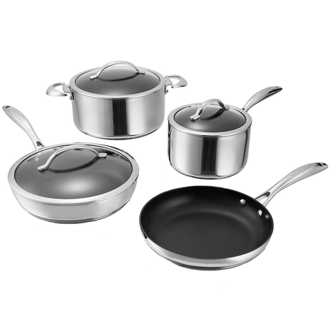 SCANPAN CTP 7-PIECE COOKWARE SET