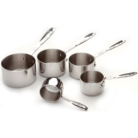 ALL-CLAD MEASURING CUP SET, SET OF 5-PIECE