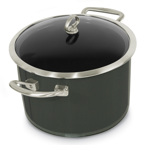 CHANTAL COPPER FUSION 6-QUART WITH LID - ONYX