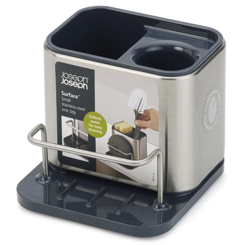 JOSEPH JOSEPH SURFACE™ SINK TIDY STAINLESS STEEL SINK CADDY