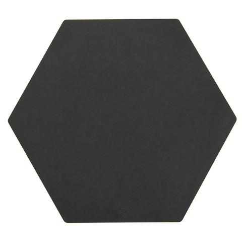 "Epicurean Hexagon Display/Serving Board, 13'' x 11.25"", Slate"