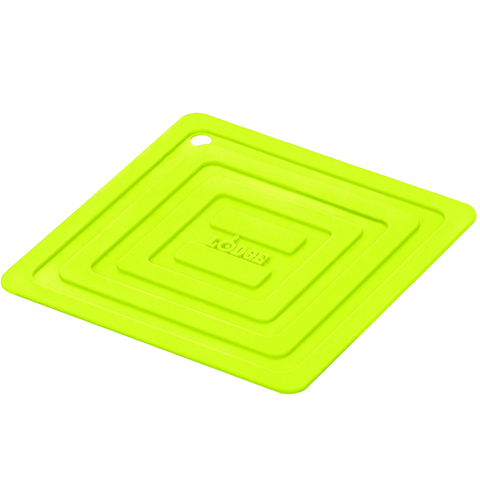 LODGE SILICONE POT HOLDER, GREEN